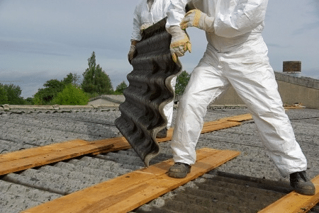 Asbest golfplaten verwijderen kosten