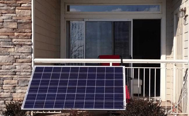 zonnepanelen balkon