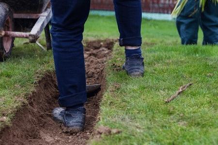 Kosten tuin uitgraven