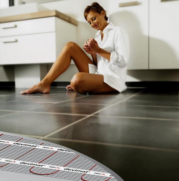 Vloerverwarming badkamer kosten 2018 | OfferteAdviseur.nl