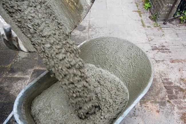 cement voorbereiden