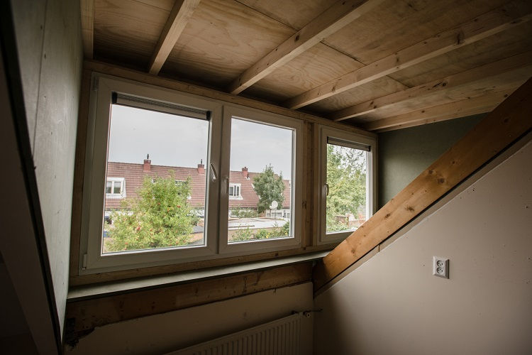 Binnenkant dakkapel
